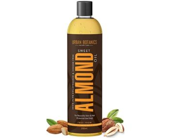UrbanBotanics 100% Pure Cold Pressed Sweet Almond Oil