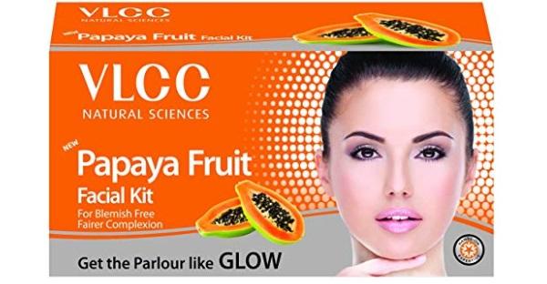 VLCC Papaya Fruit Facial Kit For Oily Skin