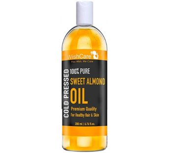 WishCare Pure Cold Pressed Sweet Almond Oil
