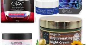 Best Night Creams for Dry Skin in India