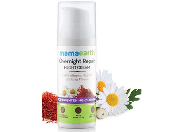 Mamaearth Skin Repair Night Cream for Glowing Skin