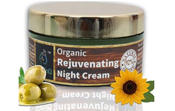 The EnQ 92% Natural 92% Organic Rejuvenating Night Cream