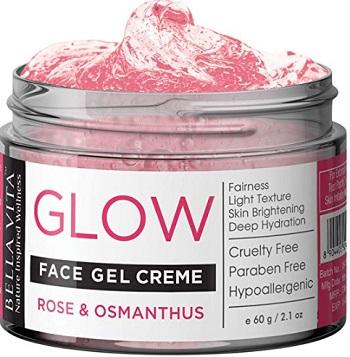 Bella Vita Organic Vitamin E Face Gel Night Cream for Oily Skin