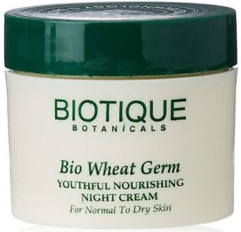 Biotique Wheatgerm Youthful Nourishing Night Cream