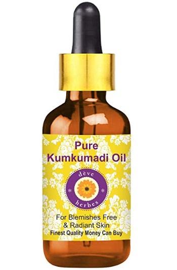 Deve Herbes Pure Kumkumadi Oil
