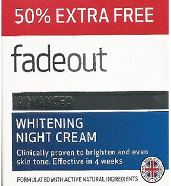Fade Out Whitening Night Cream