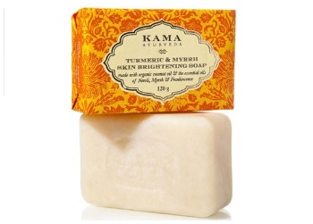 Kama Ayurveda Turmeric and Myrrh Skin Brightening Soap