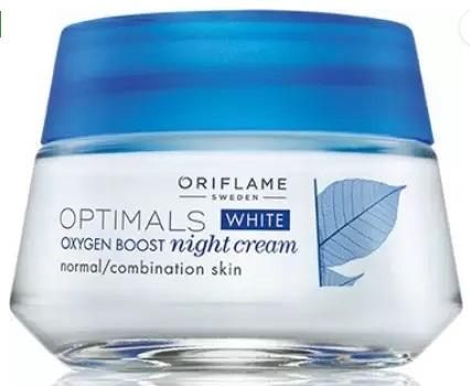 Oriflame Optimals White Oxygen Boost Night Cream