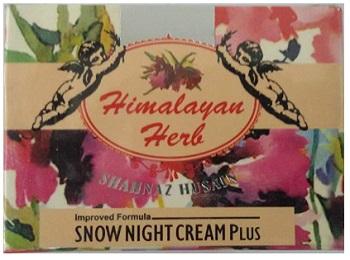 Shahnaz Husain Himalayan Herb Snow Night Cream