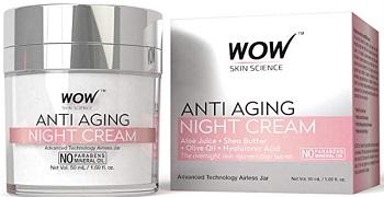 WOW Anti Aging Fairness Night Cream