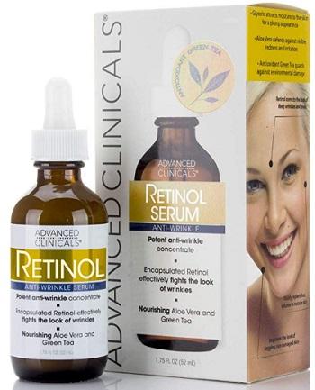 Advanced Clinicals Professional Strength Retinol Serum