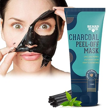 Beardhood Charcoal Peel-Off Mask