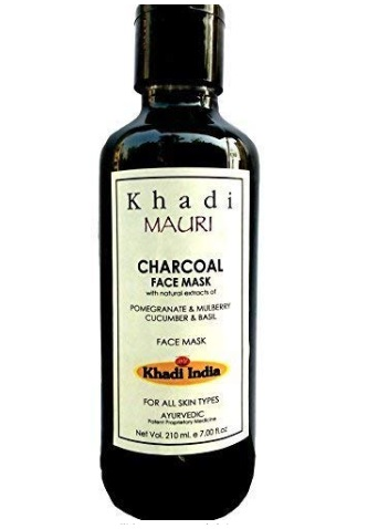 Khadi Charcoal Face Mask