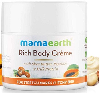 Mamaearth Body Creme for Stretch Marks and Scars