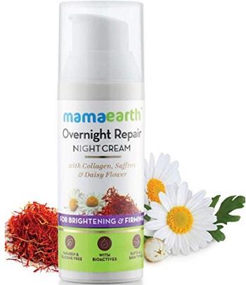 Mamaearth Skin Repair Collagen Night Cream