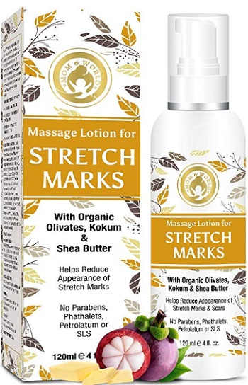 Mom & World Massage Lotion For Stretch Marks