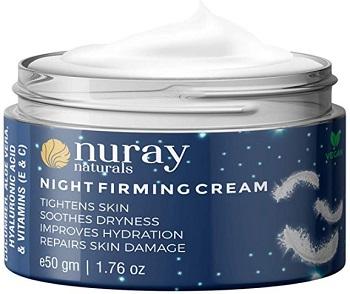 Nuray Naturals Vegan Collagen Night Cream for Skin Fairness