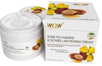 WOW Stretch Marks and Scar Lightening Oil Cream