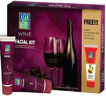 Astaberry Wine Facial Kit