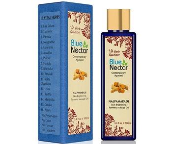 Blue Nectar Nalpamaradi Tailam For Skin Brightening Turmeric
