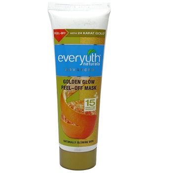 Everyuth Naturals Golden Glow Peel Off Mask