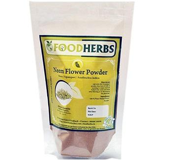 Foodherbs Vepam Poo Neem Flower Powder