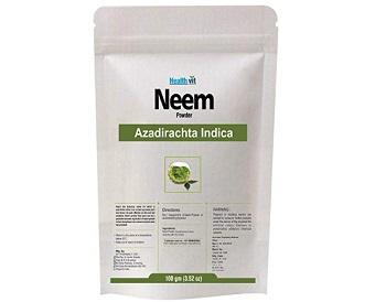 Healthvit Pure Organic Neem Peel Powder