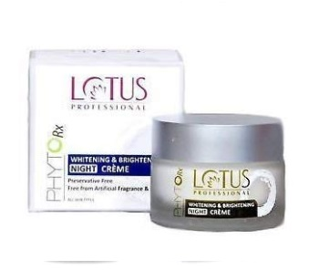 Lotus Professional Phyto Rx Whitening And Brightening Night Cream