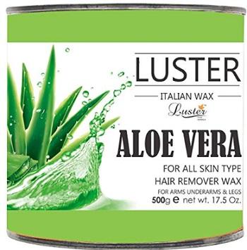 Luster Aloe Vera Hair Removal Hot Wax