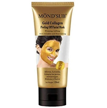 Mond'sub Gold and Black Peel Off Mask