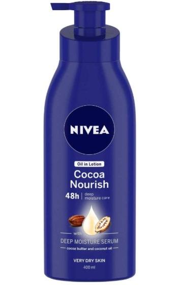 NIVEA Cocoa Nourish Oil in Lotion Body Lotion