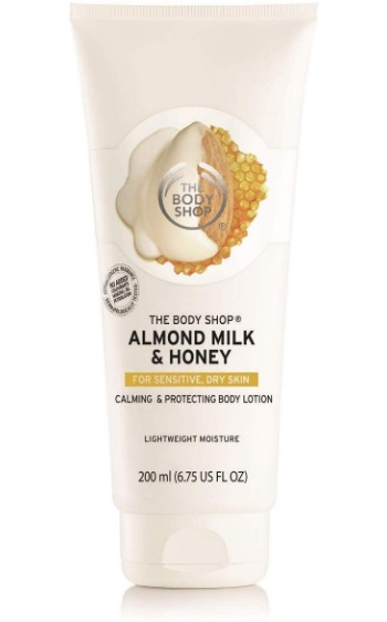 The Body Shop Almond Milk & Honey Body Lotion for Sensitive, Dry Skin