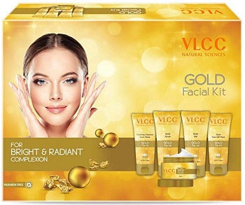 VLCC Gold for Bright & Radiant complexion Facial Kit
