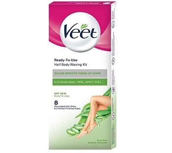Veet Full Body Waxing Kit for Dry Skin