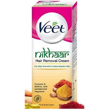 Veet Nikhaar Hair Removal Cream for All Skin Types