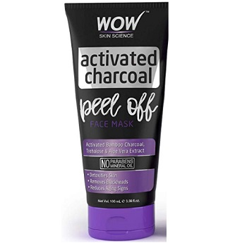 WOW Activated Charcoal Peel Off Face Mask