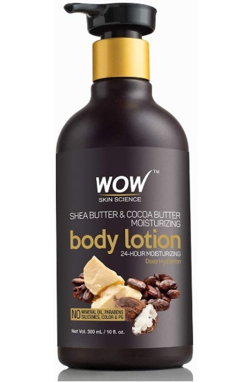 WOW Shea Butter and Cocoa Butter Moisturizing Body Lotion