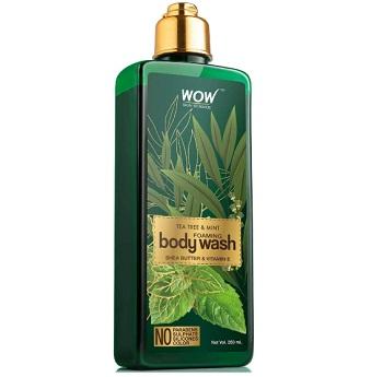 WOW Tea Tree & Mint Foaming Body Wash