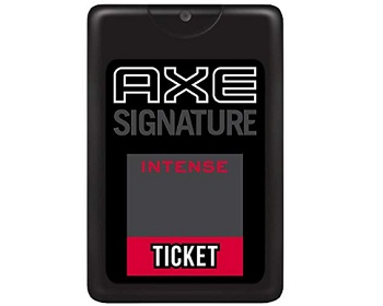 AXE Ticket Perfume in Intense