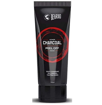 BEARDO Activated Charcoal Peel Off Mask