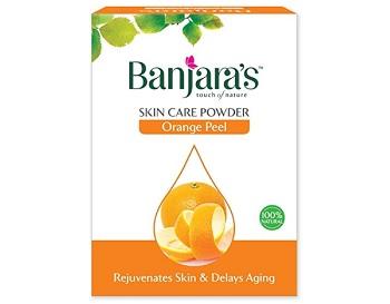 Banjara's Orange Peel Skin Care Powder