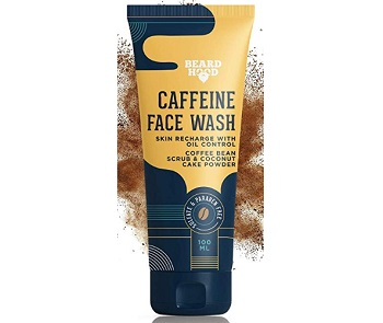 Beardhood Caffeine Face Wash For Men