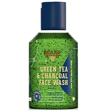 Beardhood Green Tea & Charcoal Face Wash For Man