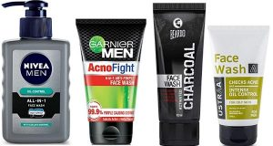 Best Acne Face Wash For Men in India