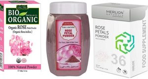 Best Rose Petal Powders in India