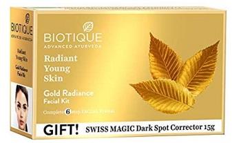 Biotique Bio Gold Radiance Facial Kit