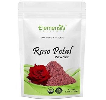Elemensis Double Filtered Rose Petal Powder For Skin