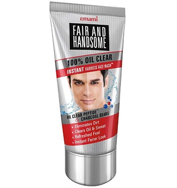 Emami Fair and Handsome 100% Oil Clear Face Wash