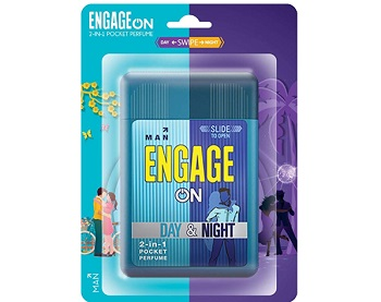 Engage On 2-In-1 Day & Night Pocket Perfume Man