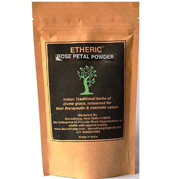 Etheric Rose Petal Powder for Skin Care